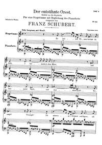 Der entsühnte Orest, D.699 (Orestes Puri... Volume D.699 by Schubert, Franz