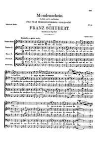 Mondenschein, D.875 (Op.102) (Moonlight)... Volume D.875 (Op.102) by Schubert, Franz