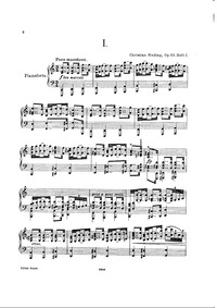 8 Intermezzi, Op.65 : Complete Score Volume Op. 65 by Sinding, Christian