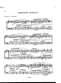 Andantino semplice : Complete Score by Taneyev, Sergey