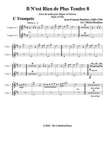 Livre de noëls pour l'orgue et le clavec... by Dandrieu, Jean-François
