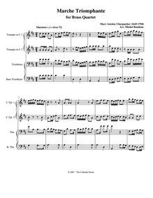 David et Jonathas, H.490 : Marche Triomp... Volume H.490 by Charpentier, Marc-Antoine