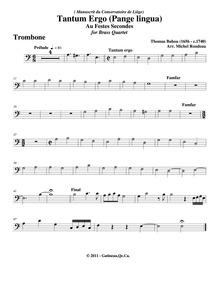Pièces d'orgue : Trombone by Babou, Thomas