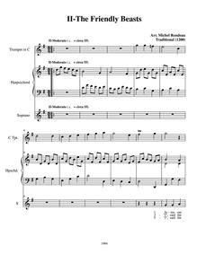 English Christmas Suite : Complete Score by Rondeau, Michel