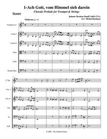 7 Chorale Preludes : 1. Ach Gott, vom Hi... by Hanff, Johann Nicolaus
