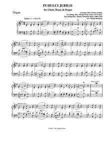 In dulci jubilo : Organ by Rondeau, Michel