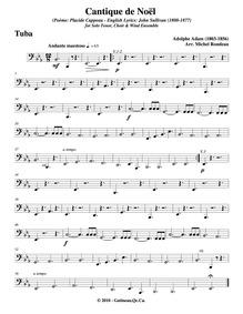 Cantique de Noël (Minuit chrétiens) : Tu... by Adam, Adolphe