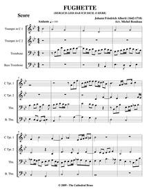 Herzlich lieb hab ich Dich, o Herr (Fugh... by Alberti, Johann Friedrich