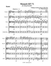 Violin Sonata (Violin Sonata No.2) : III... Volume K.7 ; Op.1 No.2 by Mozart, Wolfgang Amadeus