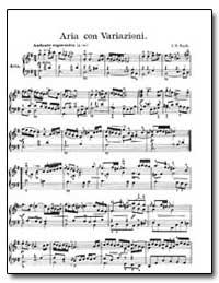 Aria Con Variaioni by Bach, Johann Sebastian