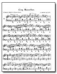 Cinq Mazurkas by Chopin, Frédéric