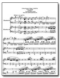 2-Piano Sonata in D Major, K. 448 375A by Mozart, Wolfgang Amadeus