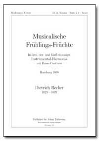 Musicalische für Uhlings-Fr Uchte by Becker, Dietrich