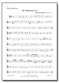 16. Paduana a 5 by Becker, Dietrich