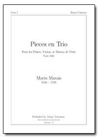 Pieces en Trio by Marais, Marin