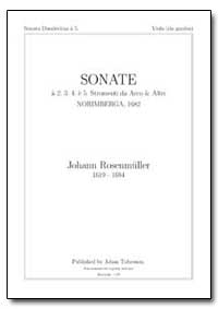 Sonate a 2. 3. 4. E 5. Stromenti Da Arco... by Uller, Johann Rosenm
