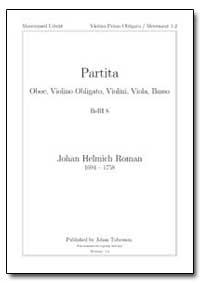 Partita Oboe, Violino Obligato, Violini,... by Roman, Johan Helmich