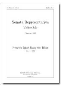 Sonata Representativa Violino Solo Olomo... by Ignaz, Heinrich