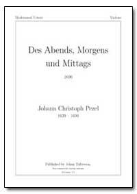 Des Abends, Morgens und Mittags 1690 by Pezel, Johann Christoph