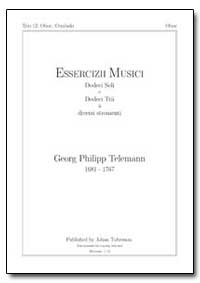 Esserciziimusici Dodeci Soli E Dodeci Tr... by Telemann, Georg Philipp
