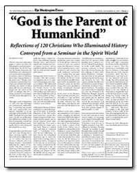 God Is the Parent of Humankind : Reflect... by Peter, Simon