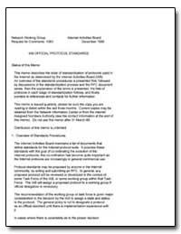 Iab Official Protocol Standards by Postel, Jon
