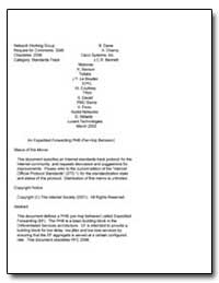 An Expedited Forwarding Phb (Per-Hop Beh... by Davie, B.