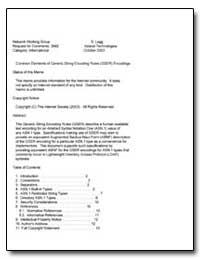 Common Elements of Generic String Encodi... by Legg, S.