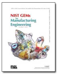 Nist Gems for Manufacturing Engineering by