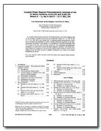 Coupled Phase Diagram-Thermodynamic Anal... by Dessureault, Yves