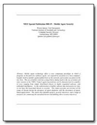 Nist Special Publication 800-19 Mobile A... by Jansen, Wayne A.