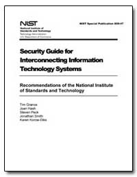 Security Guide for Interconnecting Infor... by Grance, Timothy