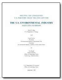 Meeting the Challenge : U.S. Industry Fa... by Berg, David R.