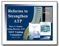 Reforms to Strengthen Atp by Stanley, Marc G.
