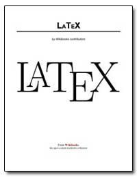 Latex by Wikibooks Contributors