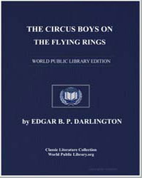 The Circus Boys on the Flying Rings, Or ... by Darlington, Edgar B. P.