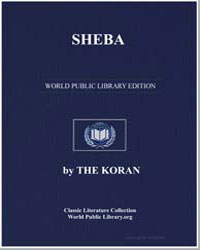 Sheba by Muhammad, Prophet