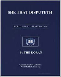 She That Disputeth by Muhammad, Prophet