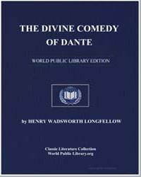 The Divine Comedy of Dante by Longfellow, Henry Wadsworth