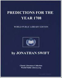 Predictions for the Year 1708 by Swift, Jonathan