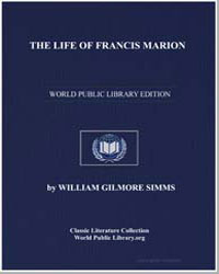 The Life of Francis Marion by Simms, William Gilmore