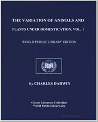 The Variation of Animals and Plants unde... by Darwin, Charles
