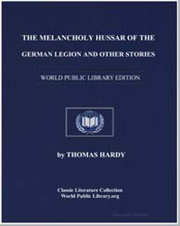 The Melancholy Hussar of the German Legi... by Hardy, Thomas