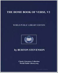 The Home Book of Verse, Volume 2 by Stevenson, Burton