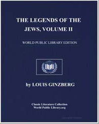 The Legends of the Jews Volume 2 by Ginzberg, Louis