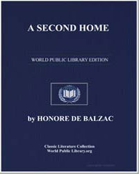 A Second Home by De Balzac, Honore