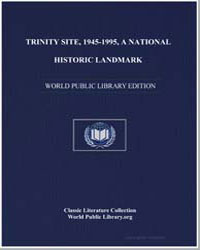Trinity Site : 1945-1995 by White Sands Missile Range Public Affairs Office