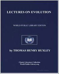Lectures on Evolution by Huxley, Thomas Henry