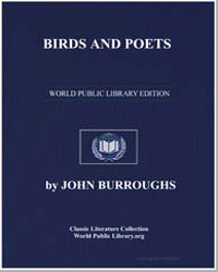 Birds and Poets by Burroughs, John