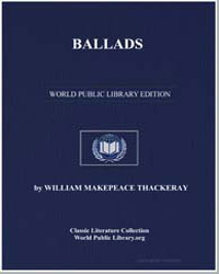 Ballads by Thackeray, William Makepeace